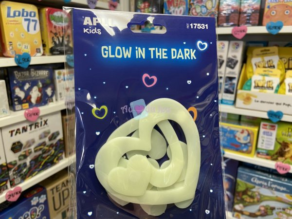 Stickers Coeurs Luminescents