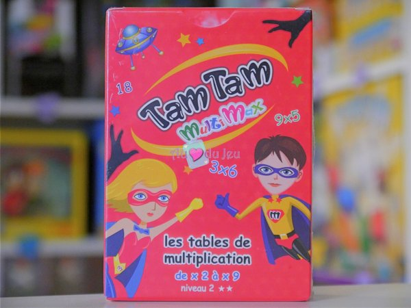 Tam Tam Multimax Niveau 2 Blackrock Editions