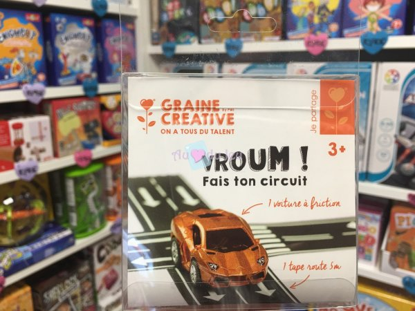 Tape Route 5m & Voiture Friction