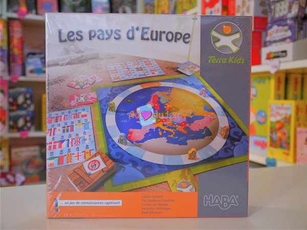 Terra Kids - Les Pays D'Europe Haba