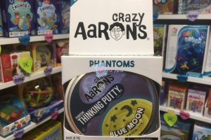 Crazy Aaron's Thinking Putty 10cm - Blue Moon