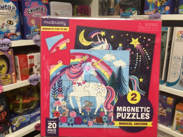 2 Puzzles Magnétiques Licorne Tiger Tribe