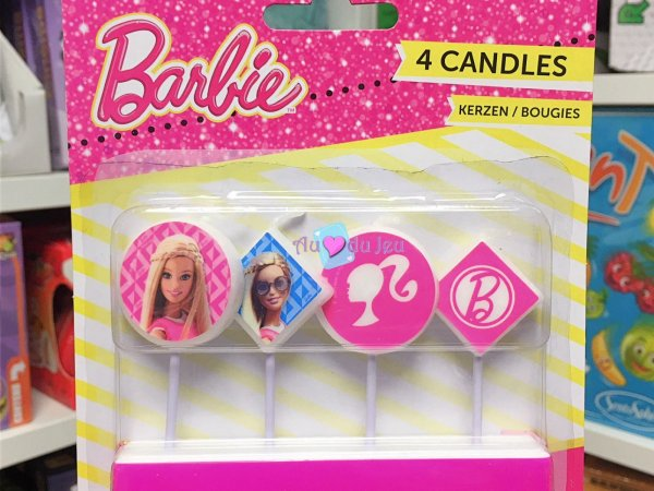 4 Bougies Barbie