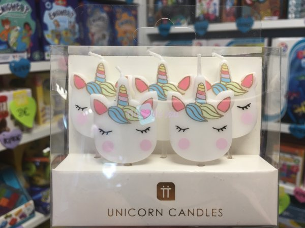 5 Bougies We Heart Unicorn