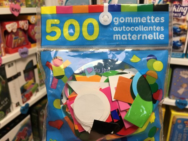 500 Gommettes Maternelle Editions Lito