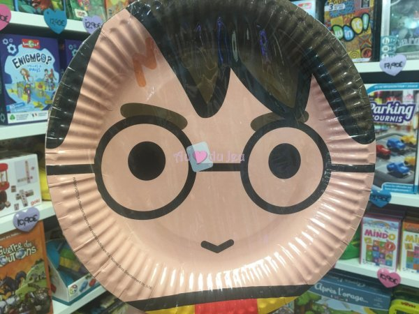 8 Assiettes Harry Potter Comic