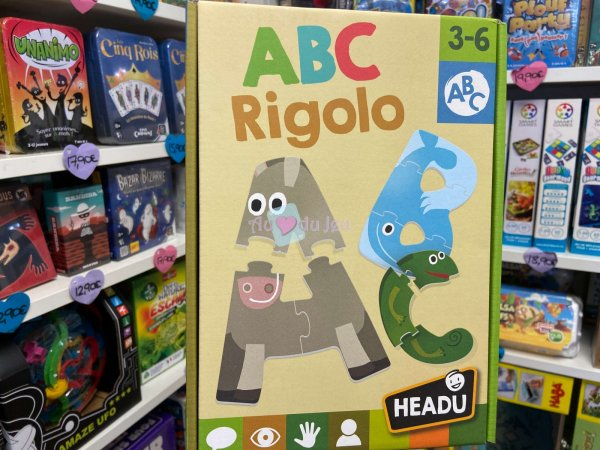 ABC Rigolo Headu