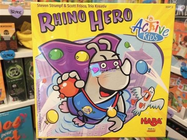 Active Kids Rhino Hero Haba