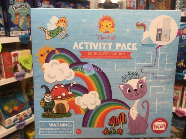 Activity Pack - Jardin Enchante Tiger Tribe