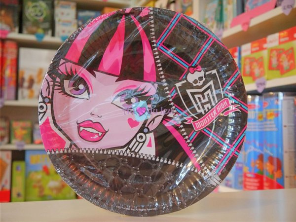 Assiettes Monster High