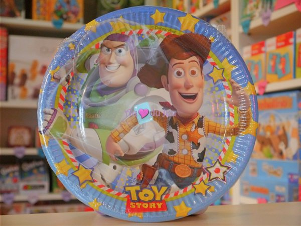 8 Assiettes Toy Story