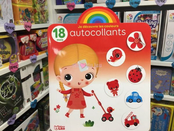 Autocollants Arc en Ciel Enfant Editions Lito