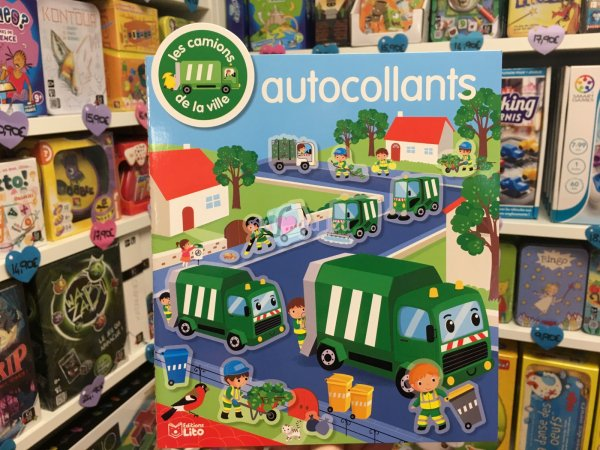 Autocollants Vehicules Camion Editions Lito