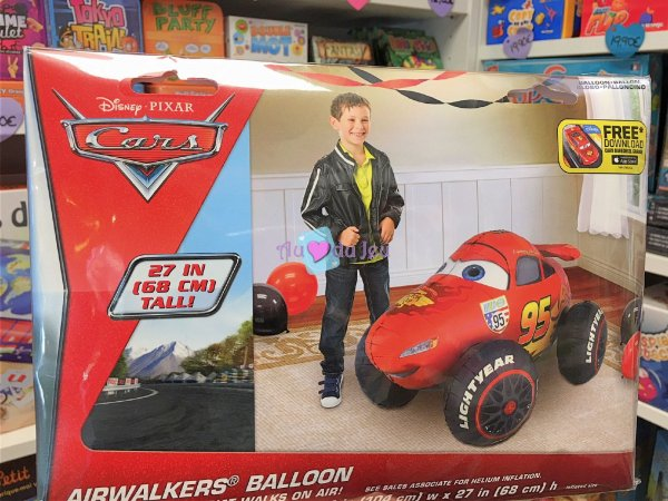 Ballon XXL Cars Flash McQueen