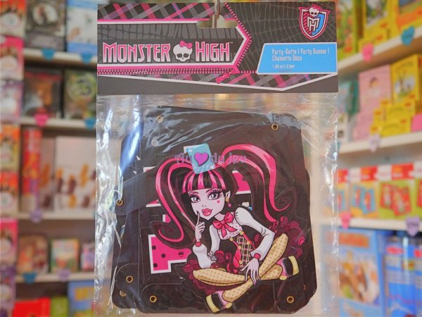 Banderole Monster High