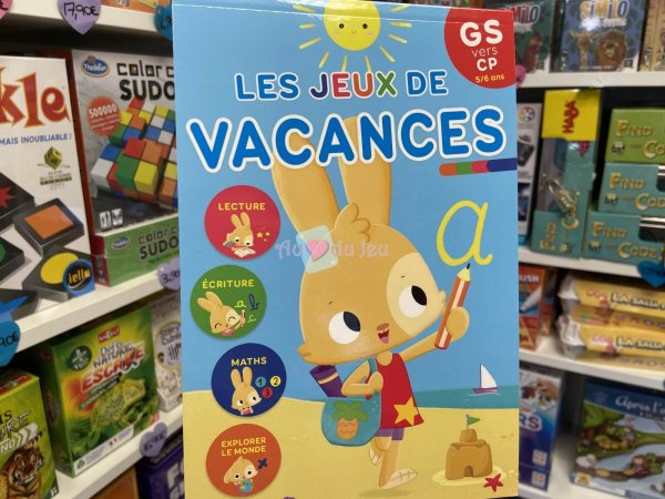 Bloc Jeux de Vacances Grande Section Editions Lito