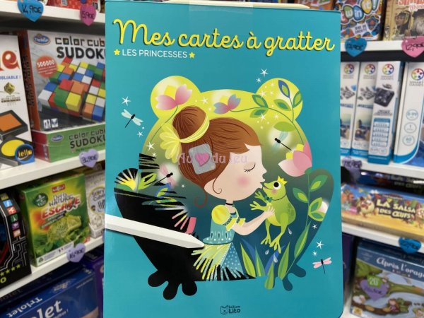 Bloc Magique Cartes Princesses Editions Lito