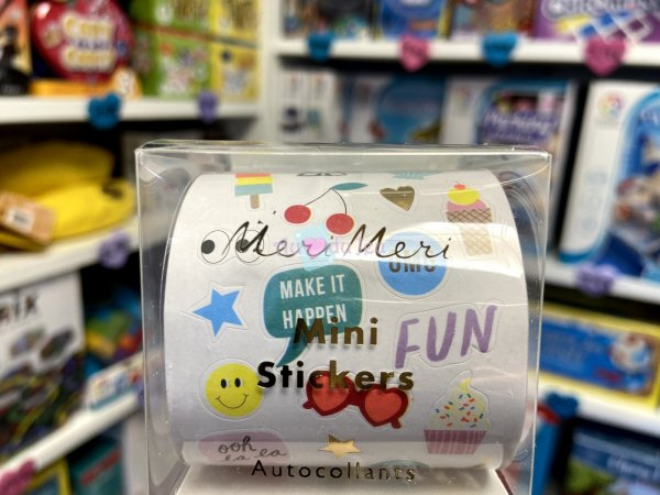 Boite 500 Mini Stickers - Party APLI Kids