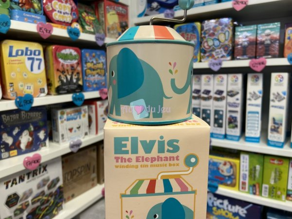Boite Musicale Elvis L'elephant Rex London
