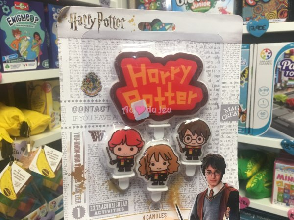 Bougies Harry Potter Comic