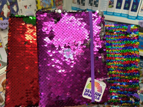 Cahier Sequins