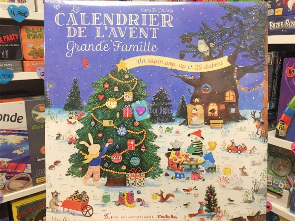 Calendrier de l'Avent Moulin Roty Moulin Roty