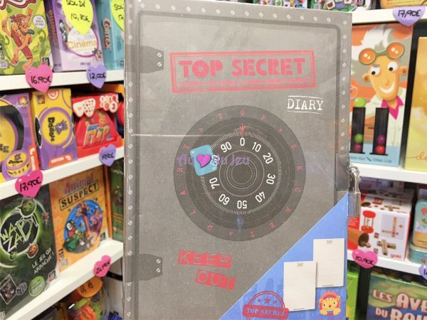 Carnet Top Secret BERTOY