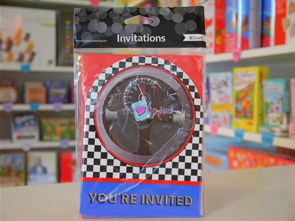 Cartes Invitation Grand Prix