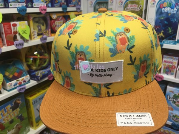 Casquette Cool Kids Only Safari 6 Ans et + Hello Hossy