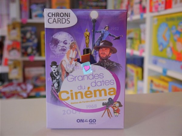 Chronicards - Les Grandes Dates du Cinema Blackrock Editions