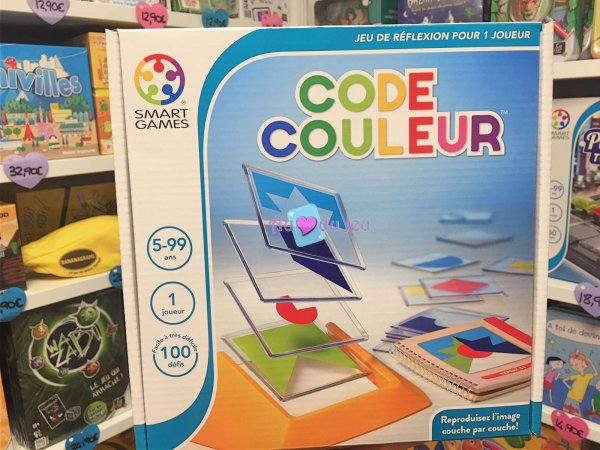 Code Couleur Smart Games