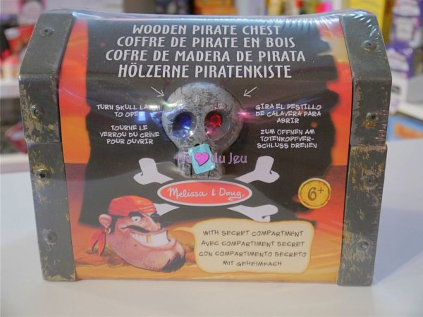 Coffre de Pirate Melissa & Doug