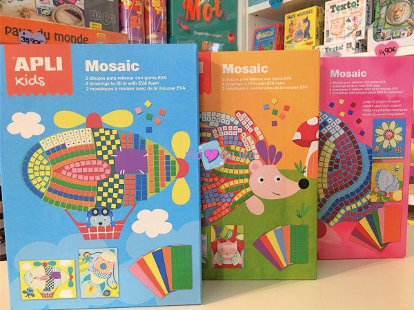 Coffret Mosaique APLI Kids