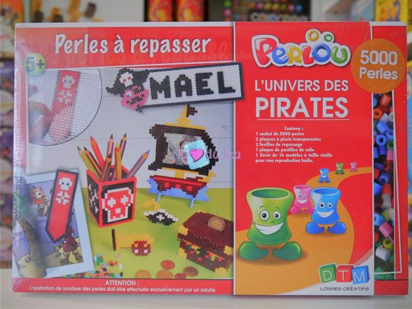 Coffret Perlou - Pirates Graine Creative