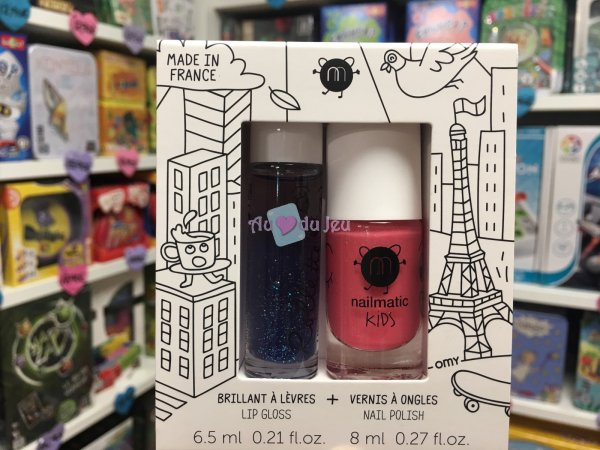 Coffret Rollette Vernis - Lovely City Nailmatic Kids