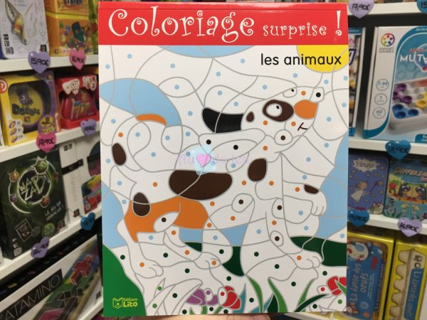 Coloriage Surprise Les Animaux Editions Lito