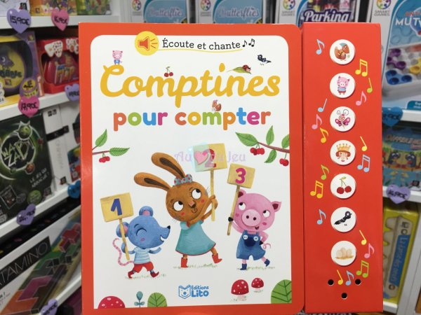 Comptines Pour Compter Editions Lito