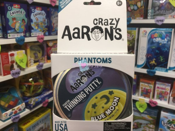 Crazy Aaron's Thinking Putty 10cm - Blue Moon Crazy Aaron's