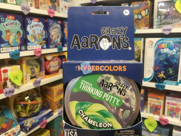 Crazy Aaron's Thinking Putty 10cm - Chameleon Crazy Aaron's