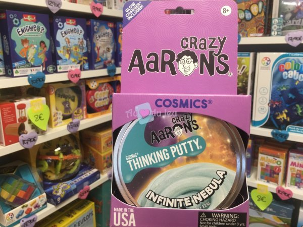 Crazy Aaron's Thinking Putty 10cm - Infinite Nebula Crazy Aaron's