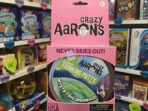 Crazy Aaron's Thinking Putty 10cm - Mermaid Crazy Aaron's