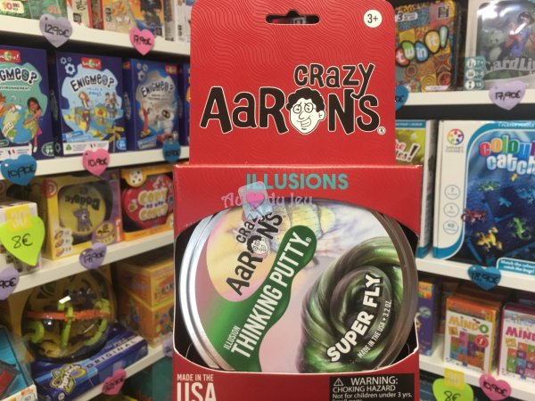 Crazy Aaron's Thinking Putty 10cm - Super Fly Crazy Aaron's