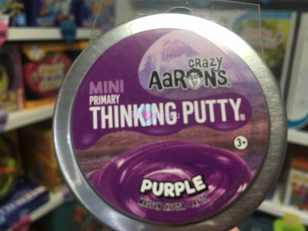 Crazy Aaron's Thinking Putty 5cm - Purple Crazy Aaron's