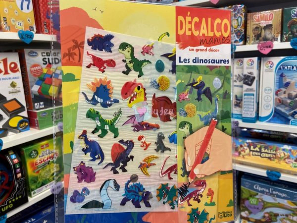 Decalco Les Dinosaures Editions Lito