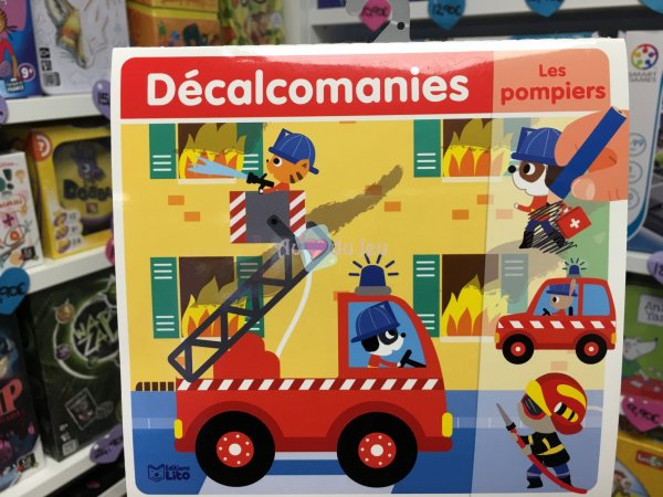 Decalcomanies - Les Pompiers Editions Lito