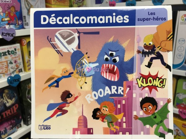 Decalcomanies - Super Heros Editions Lito