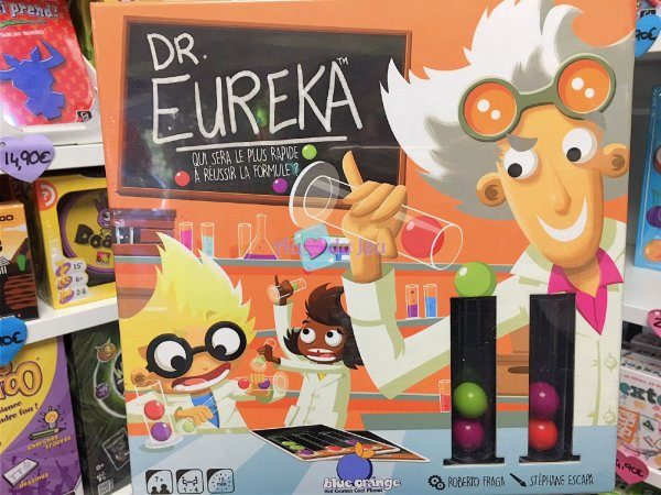 Docteur Eureka Blackrock Editions