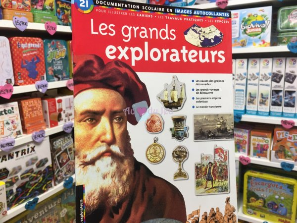 Docu Scolaire - Grands Explorateurs Editions Lito