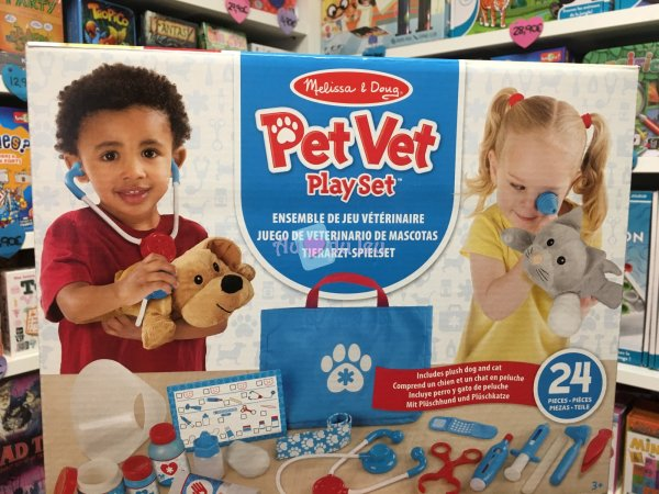 Ensemble De Jeu Veterinaire Melissa & Doug