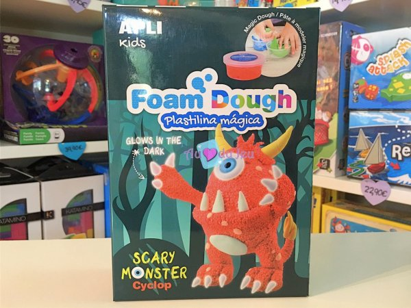 Pâte à modeler Fun Dough - Monstre APLI Kids